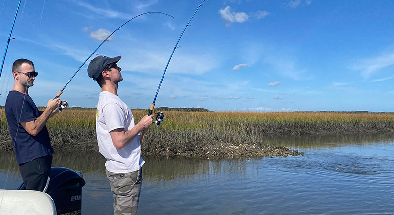 Rates for Inshore fishing in St. Augustine, Florida